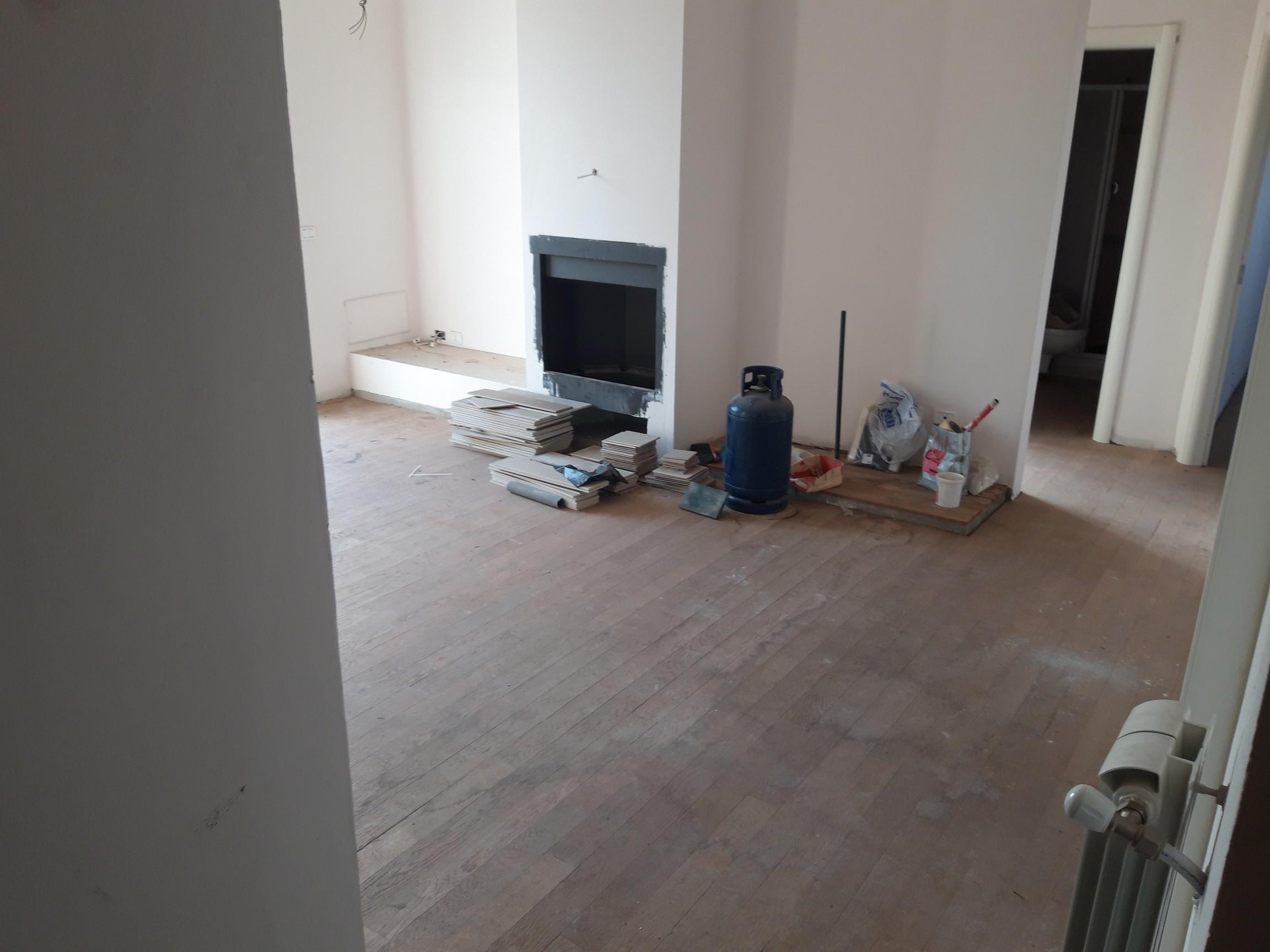 Appartamento piano ultimo.