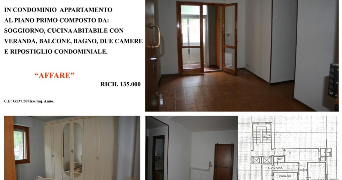 Appartamento trilocale in condominio a Cecina